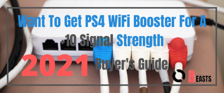 Want To Get PS4 WiFi Booster For A +10 Signal Strength